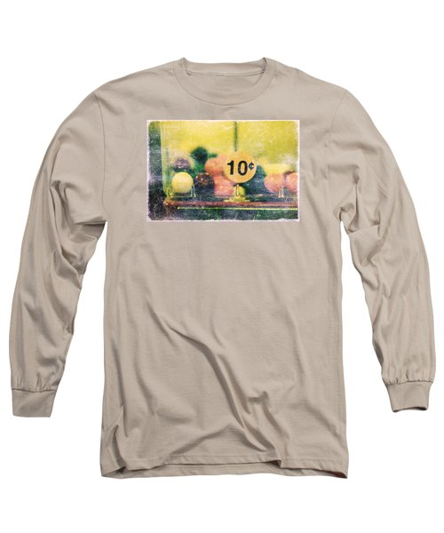 Long Sleeve T-Shirt featuring the photograph Ten Cent Candy by Toni Hopper