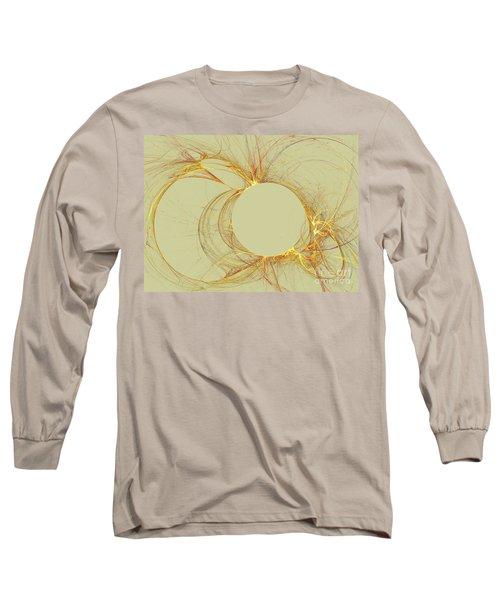 Long Sleeve T-Shirt featuring the digital art The Arcs by Kim Sy Ok