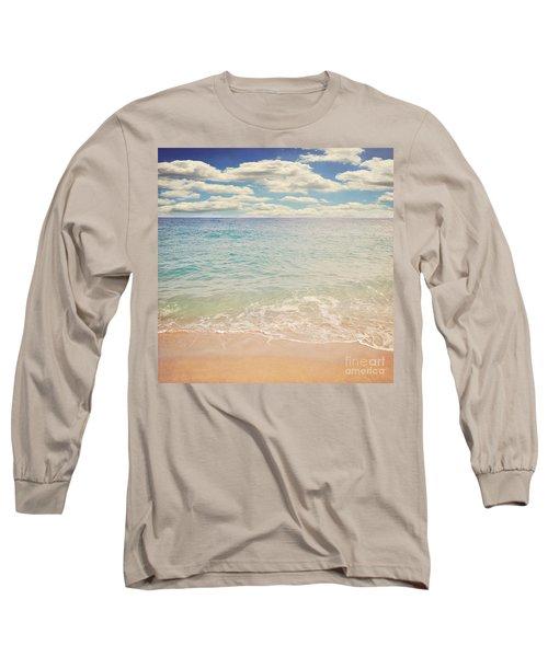The Beach Long Sleeve T-Shirt by Lyn Randle