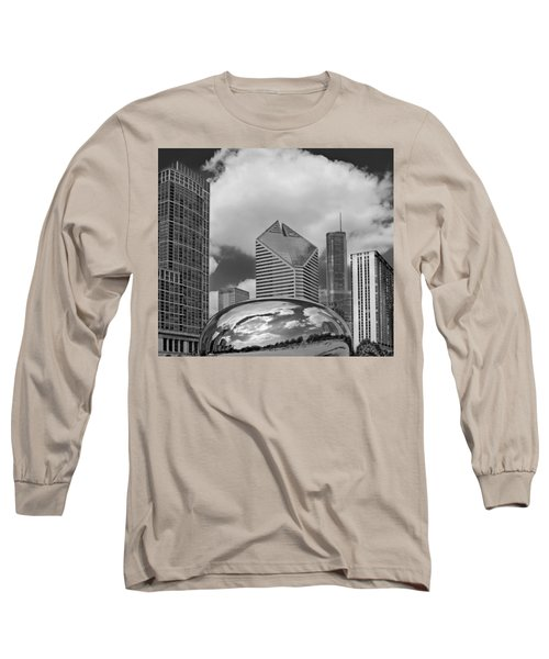 The Bean Chicago Illinois Long Sleeve T-Shirt
