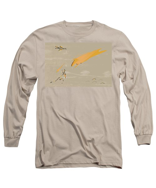 The Beast Afoot Long Sleeve T-Shirt by Kevin McLaughlin