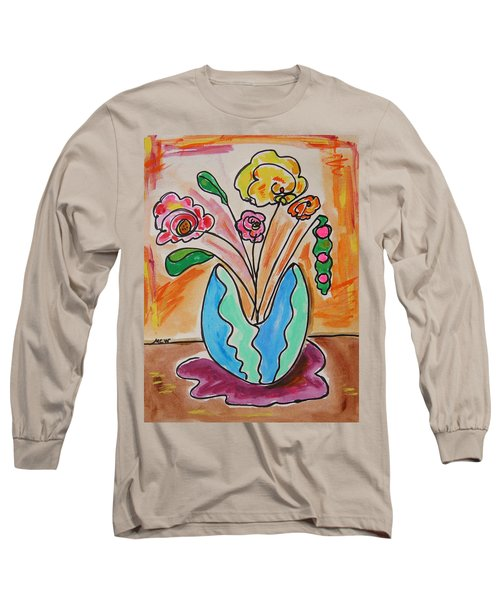 The Colors Of Sherbert Long Sleeve T-Shirt