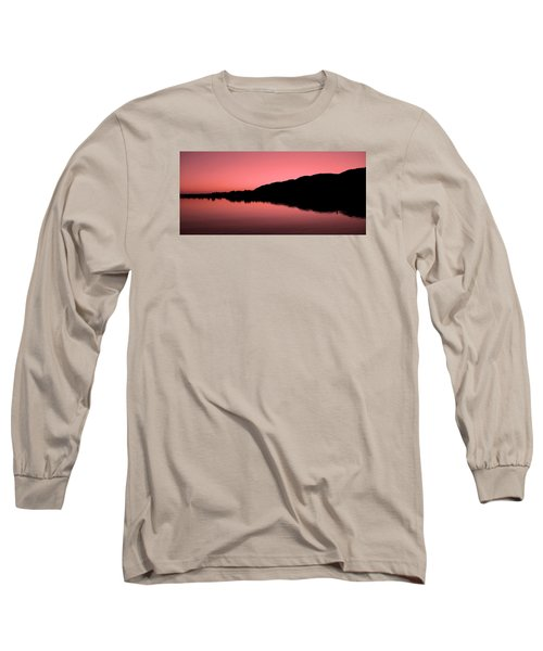 Long Sleeve T-Shirt featuring the photograph The End Of The Day ... by Juergen Weiss