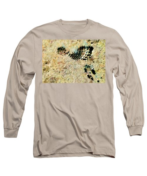 Long Sleeve T-Shirt featuring the digital art The Evolution Of Man by Steve Taylor