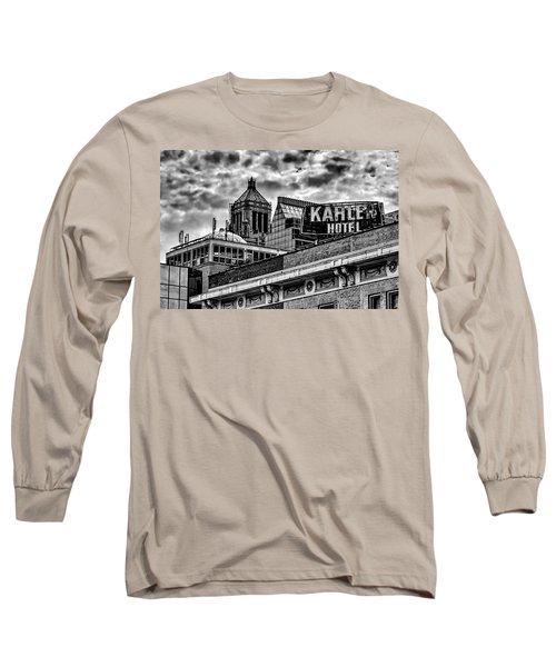 Long Sleeve T-Shirt featuring the photograph The Gathering Storm by Tom Gort
