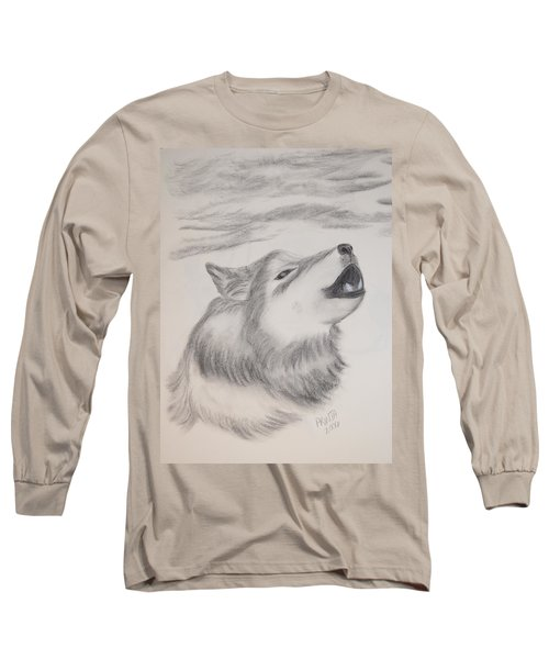 The Howler Long Sleeve T-Shirt by Maria Urso
