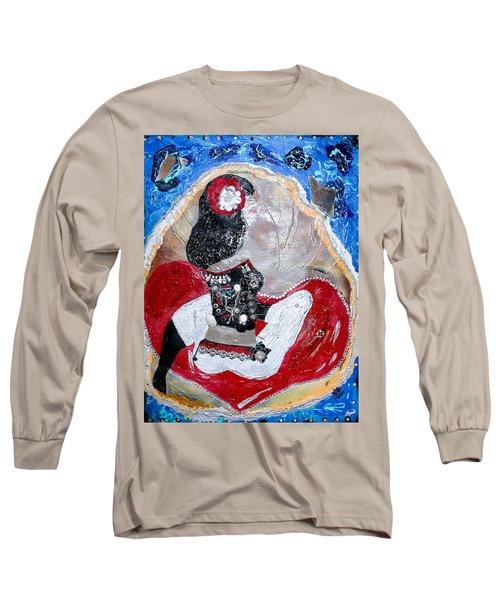 The Key To My He-art Long Sleeve T-Shirt