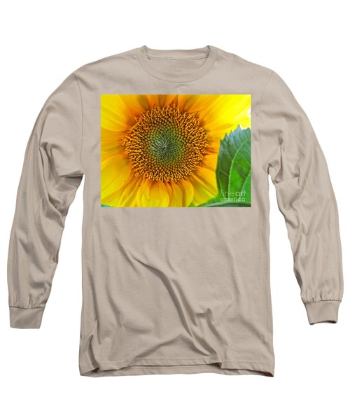 Long Sleeve T-Shirt featuring the photograph The Last Sunflower by Sean Griffin