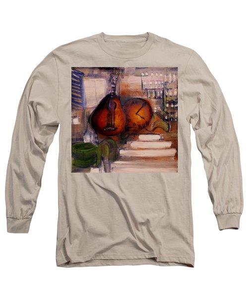 The Mandolin Long Sleeve T-Shirt by Evelina Popilian