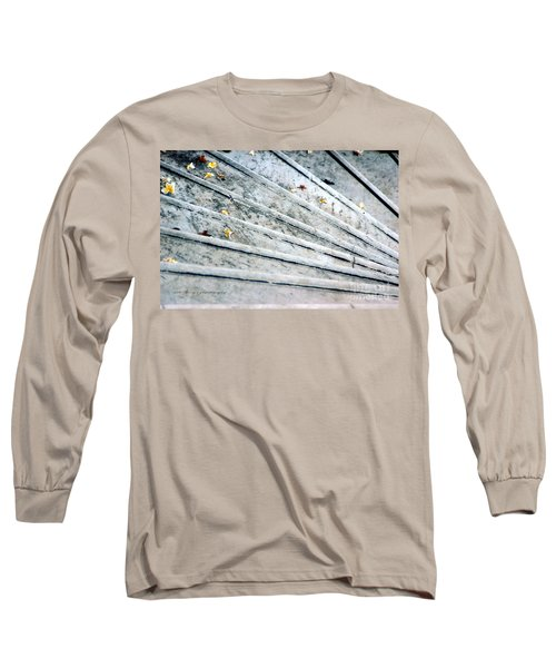 Long Sleeve T-Shirt featuring the photograph The Marble Steps Of Life by Vicki Ferrari