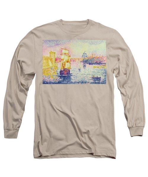 The Port Of Marseilles Long Sleeve T-Shirt