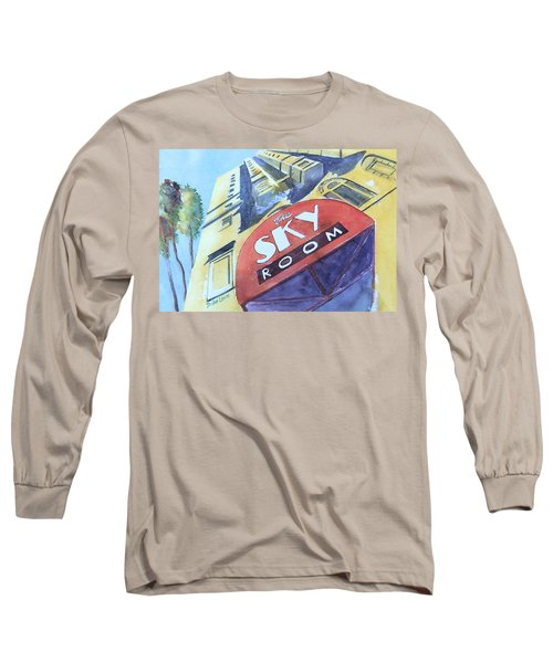 The Sky Room Long Sleeve T-Shirt by Debbie Lewis