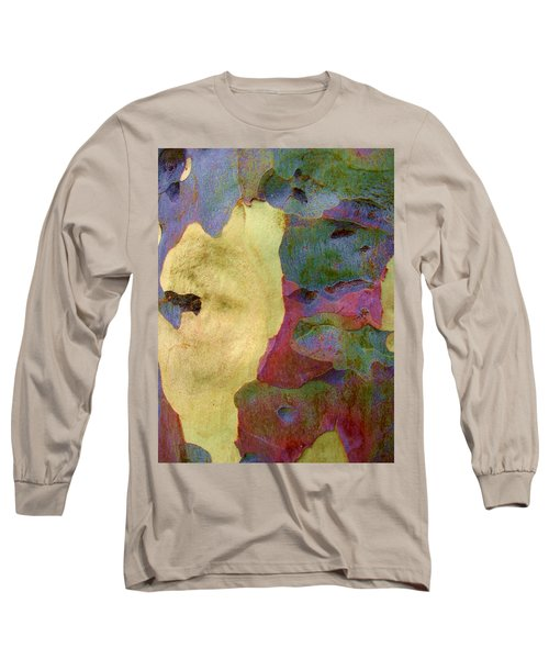The True Colors Of A Tree Long Sleeve T-Shirt by Robert Margetts