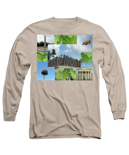 Long Sleeve T-Shirt featuring the photograph This Is Lietuva- Lithuania by Ausra Huntington nee Paulauskaite