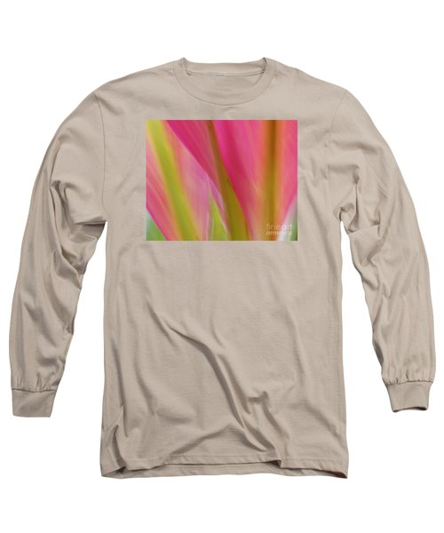 Ti Leaves Long Sleeve T-Shirt by Ranjini Kandasamy