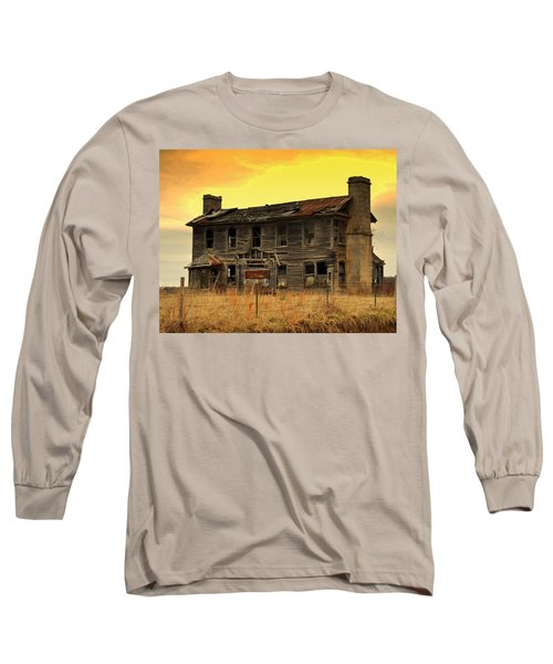 Long Sleeve T-Shirt featuring the photograph Times Past by Marty Koch