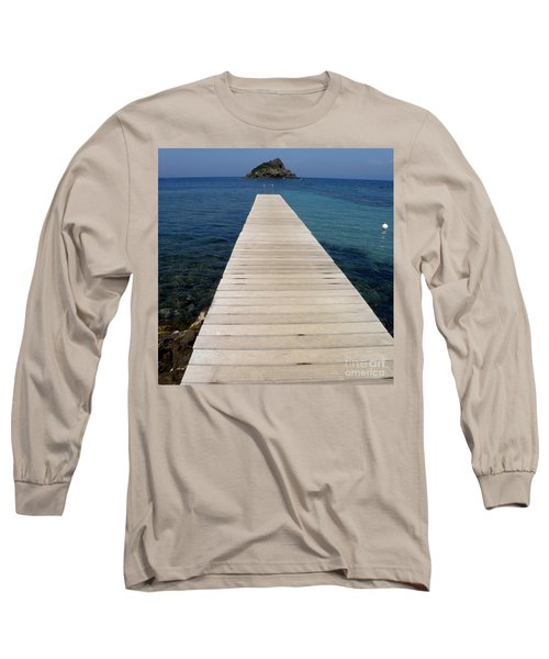 Long Sleeve T-Shirt featuring the photograph Tranquility  by Lainie Wrightson