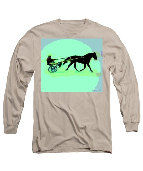 Long Sleeve T-Shirt featuring the photograph Trotter by George Pedro