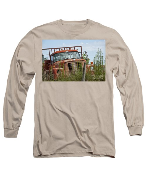 Turned Out To Pasture Long Sleeve T-Shirt by Wilma  Birdwell