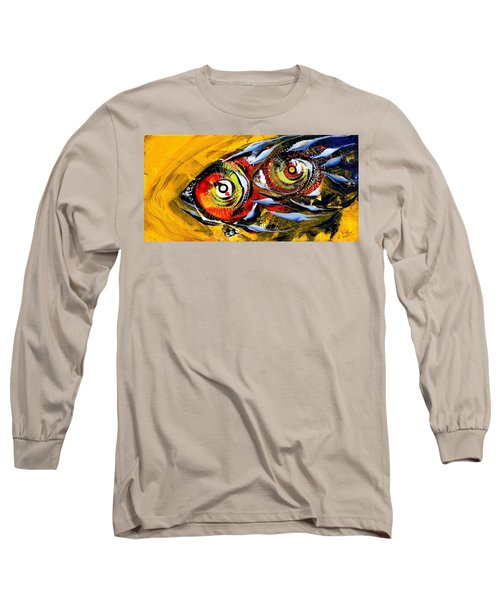 Two Around The World Long Sleeve T-Shirt