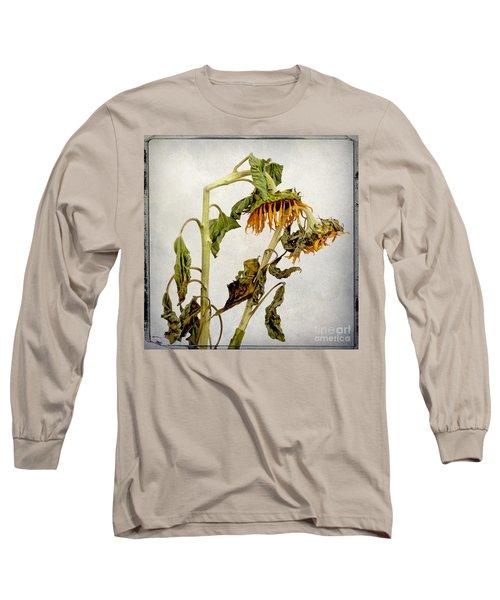 Two Sunflowers Long Sleeve T-Shirt