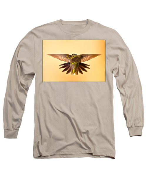 Long Sleeve T-Shirt featuring the photograph Usaf Hummingbirds Wings by Randall Branham