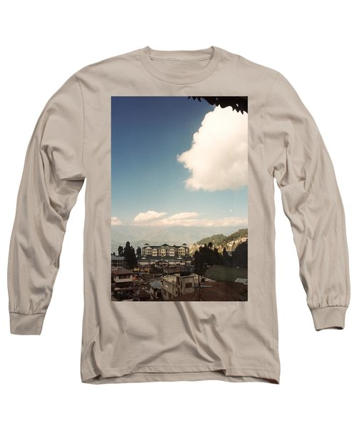 Long Sleeve T-Shirt featuring the photograph View From The Window by Fotosas Photography