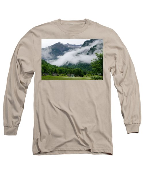 Village In The Alps Long Sleeve T-Shirt