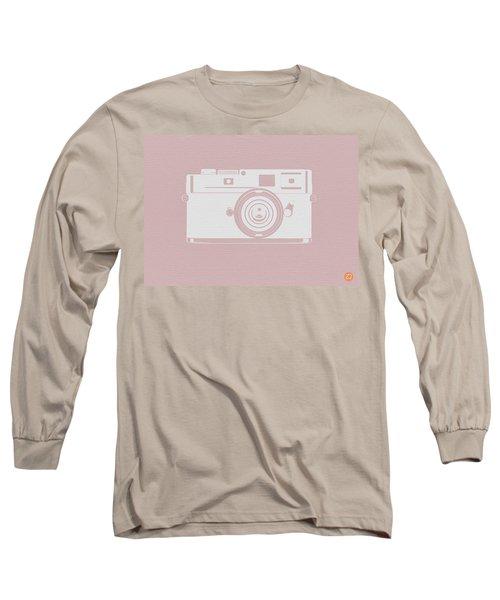 Vintage Camera Poster Long Sleeve T-Shirt