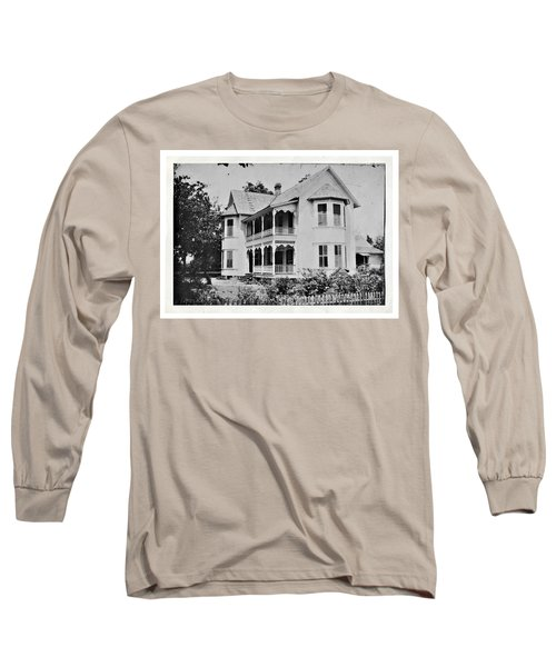 Vintage Victorian House Long Sleeve T-Shirt