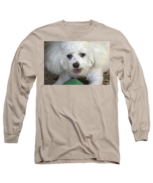 Wanna Play Ball? Long Sleeve T-Shirt