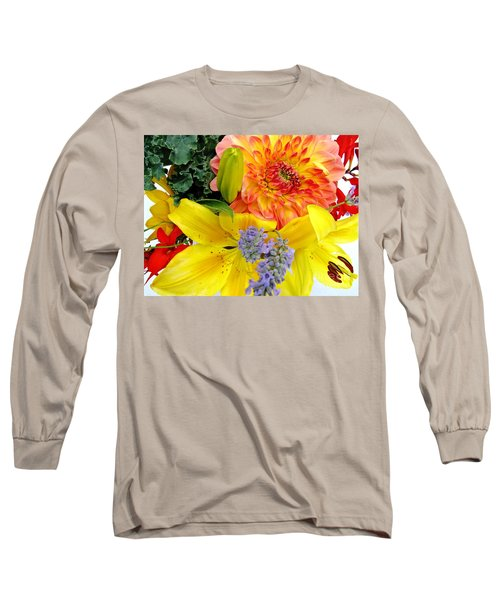 Wedding Flowers Long Sleeve T-Shirt by Rory Sagner