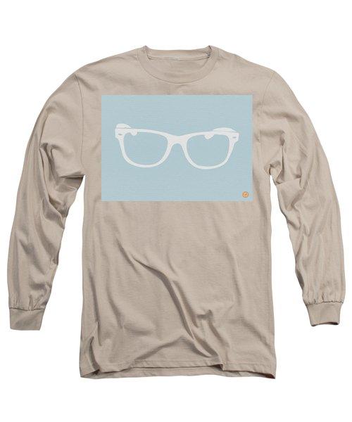 White Glasses Long Sleeve T-Shirt