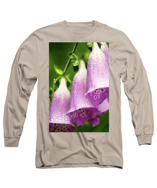 Long Sleeve T-Shirt featuring the photograph Wild Foxglove by Albert Seger