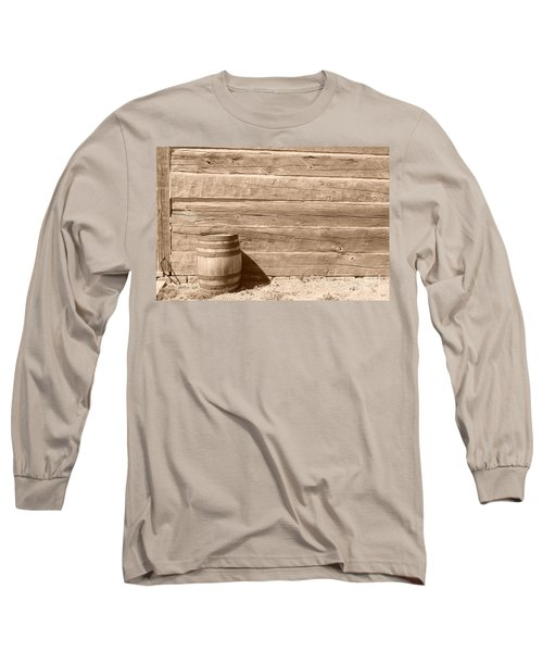 Long Sleeve T-Shirt featuring the photograph Wild West by Joe  Ng