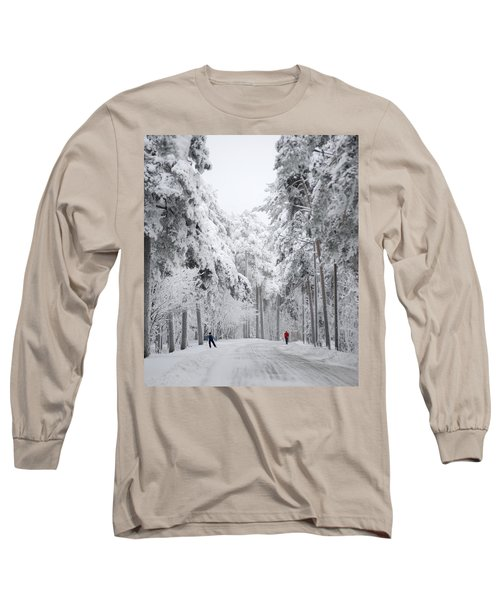 Winter Activities Long Sleeve T-Shirt
