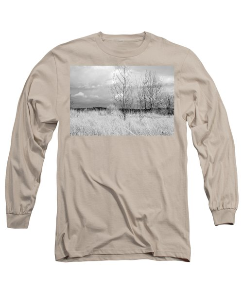 Winter Bare Long Sleeve T-Shirt by Kathleen Grace