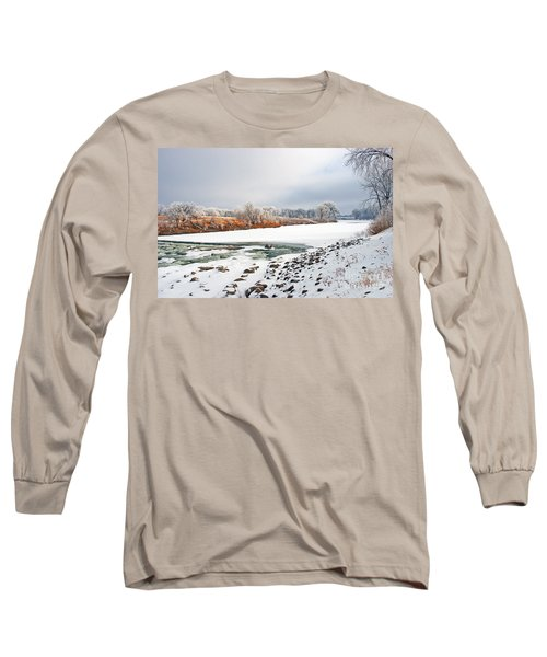 Winter Red River 2012 Long Sleeve T-Shirt