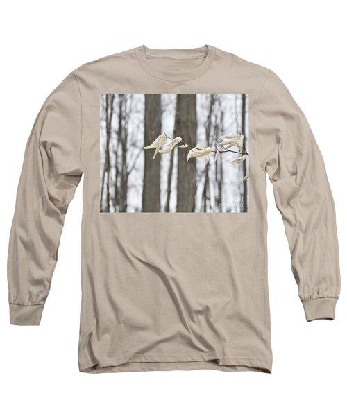 Winter White Long Sleeve T-Shirt