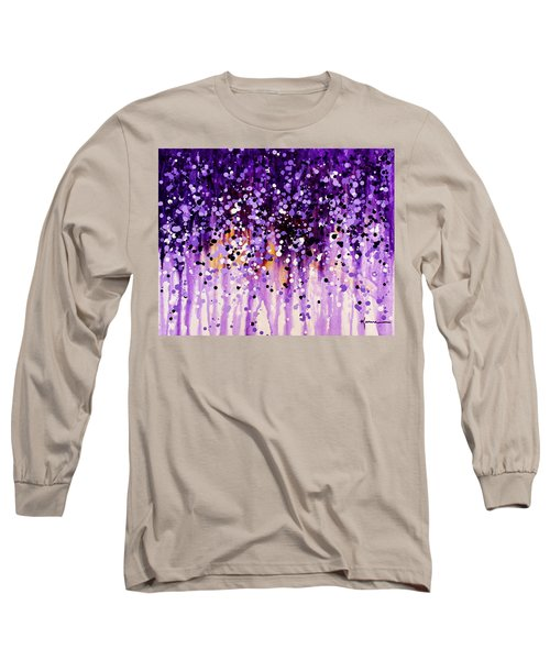 Wisteria Long Sleeve T-Shirt by Kume Bryant