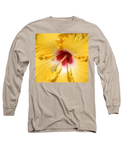Yellow Fellow Long Sleeve T-Shirt by Cindy Manero