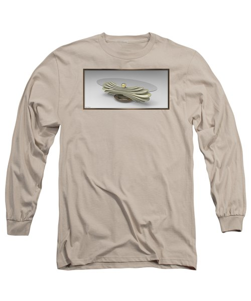 ' A Distorted Spring Table ' Long Sleeve T-Shirt