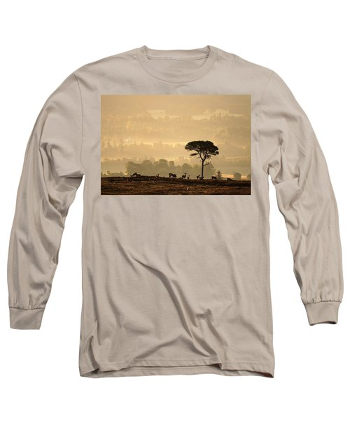 Autumn Morning, Strathglass Long Sleeve T-Shirt