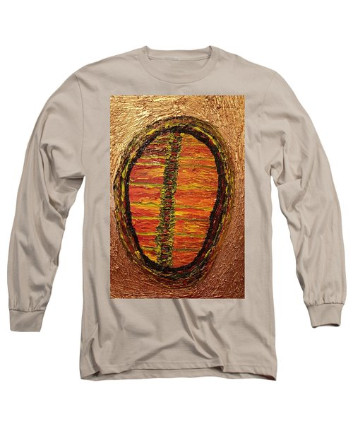Convergence Of Nature Long Sleeve T-Shirt by Darrell Black