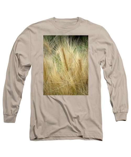 Foxtail Barley Long Sleeve T-Shirt
