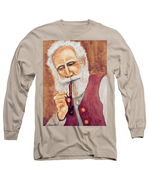 German With Pipe No. 2 Long Sleeve T-Shirt