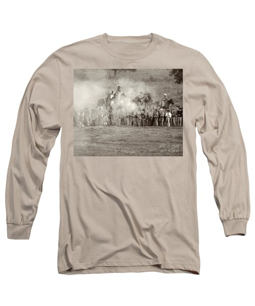Gettysburg Confederate Infantry 7503s Long Sleeve T-Shirt