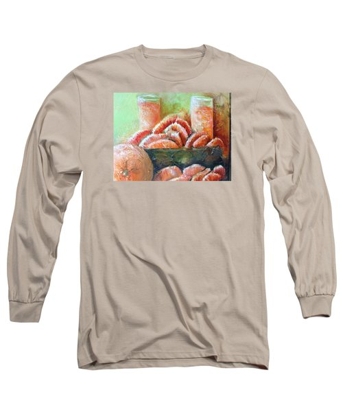 Mandarin Oranges  Long Sleeve T-Shirt