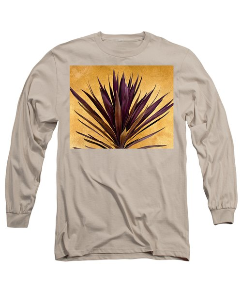Purple Giant Dracaena Santa Fe Long Sleeve T-Shirt