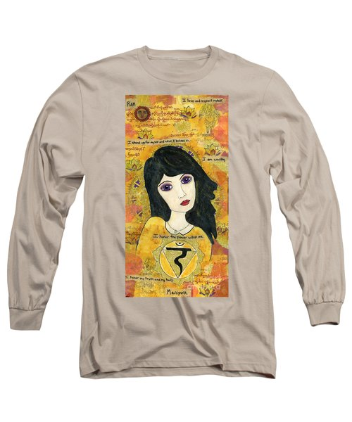 Third Chakra Long Sleeve T-Shirt